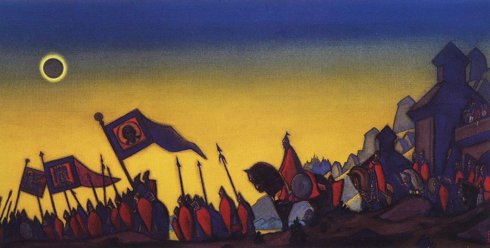 рерих живопись: